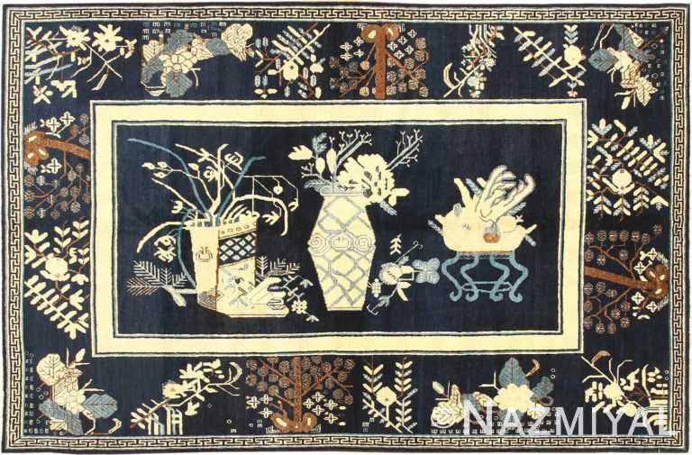 antique khotan rug 42447 Nazmiyal