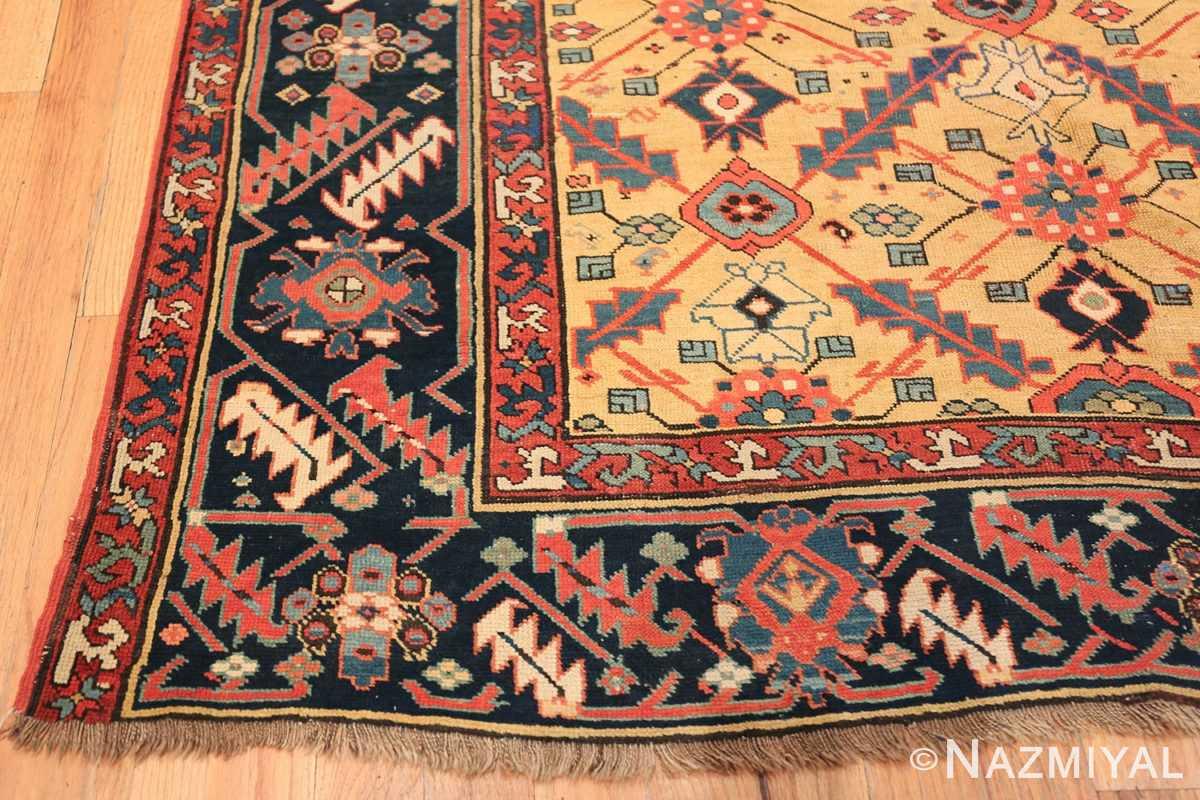 Antique Northwest Persian Rug 2918 Side Corner Nazmiyal