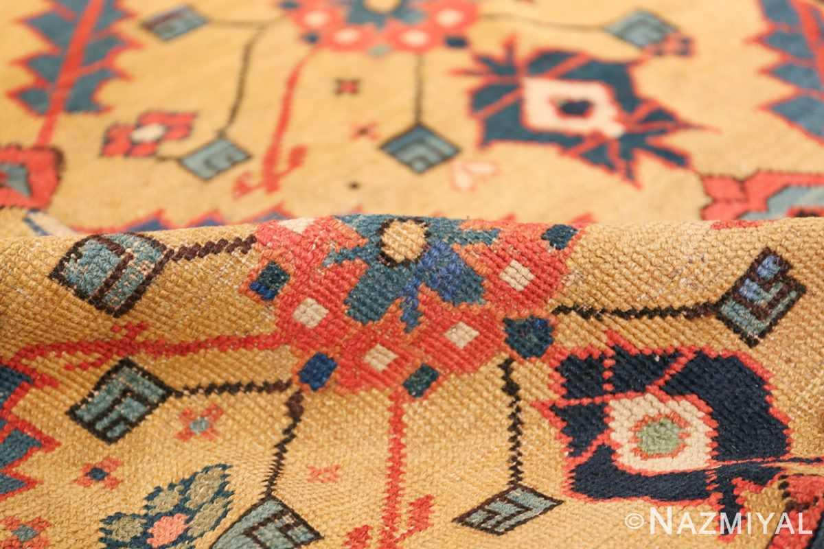 Antique Northwest Persian Rug 2918 Yellow Pile Nazmiyal
