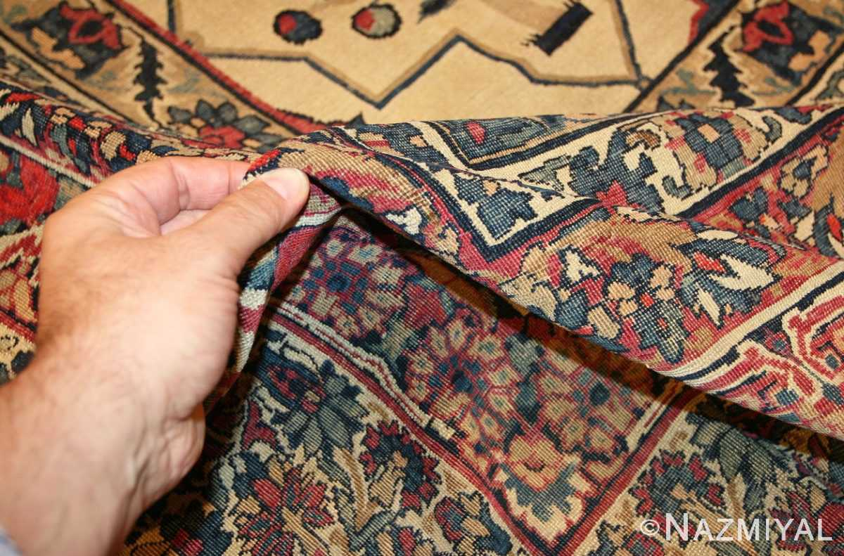 antique persian kerman rug 3403 pile Nazmiyal