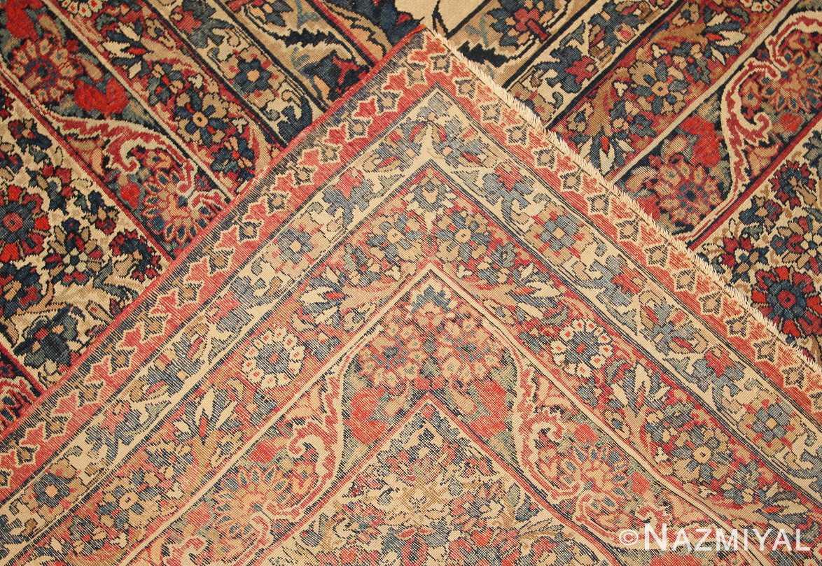 antique persian kerman rug 3403 weave Nazmiyal