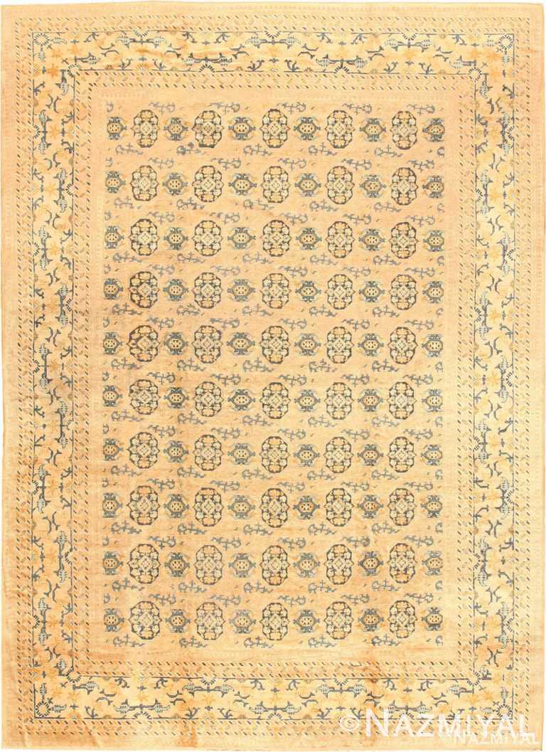Antique Room Size Khotan Rug #538 by Nazmiyal Antique Rugs