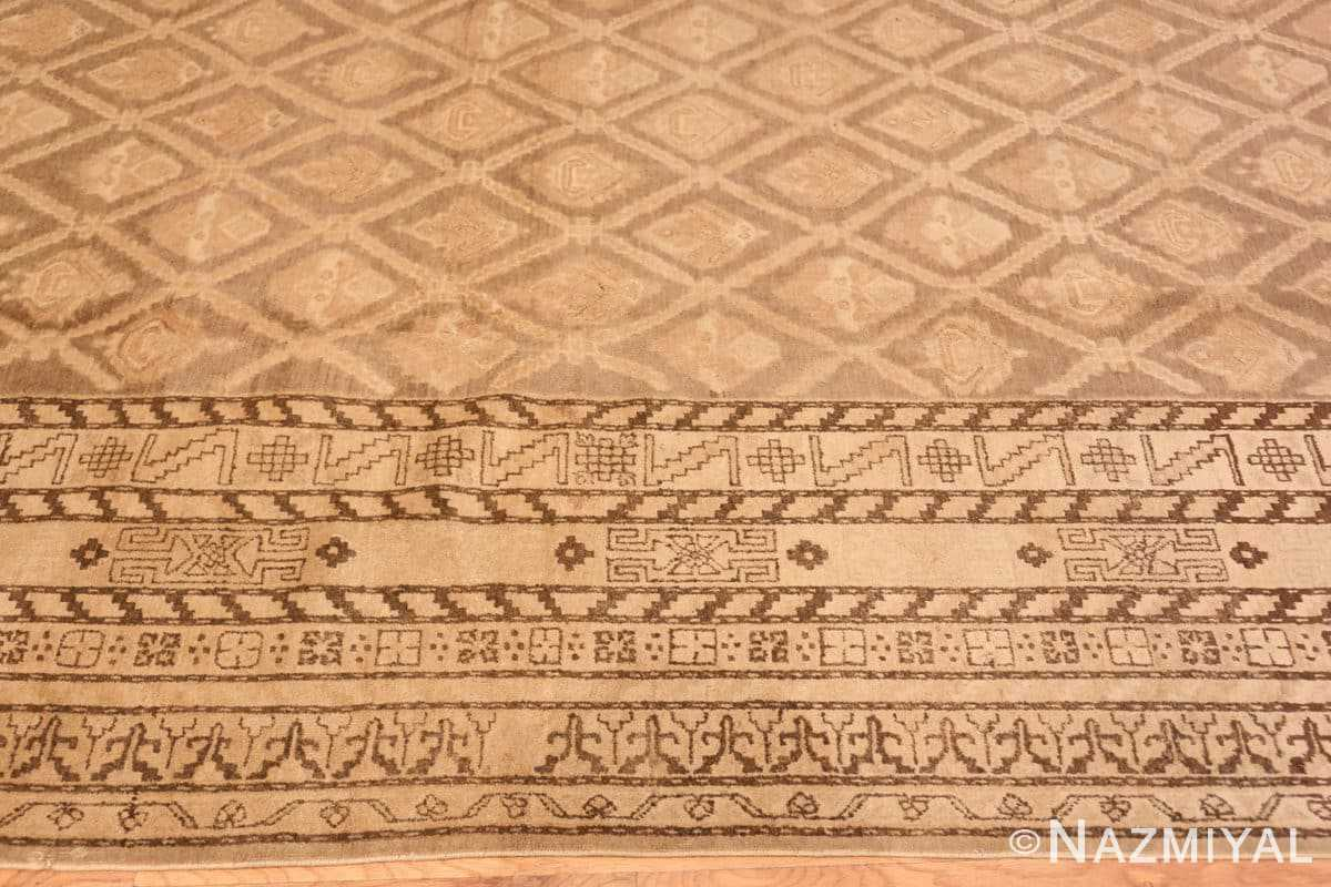 Border Antique Khotan carpet 40808 by Nazmiyal