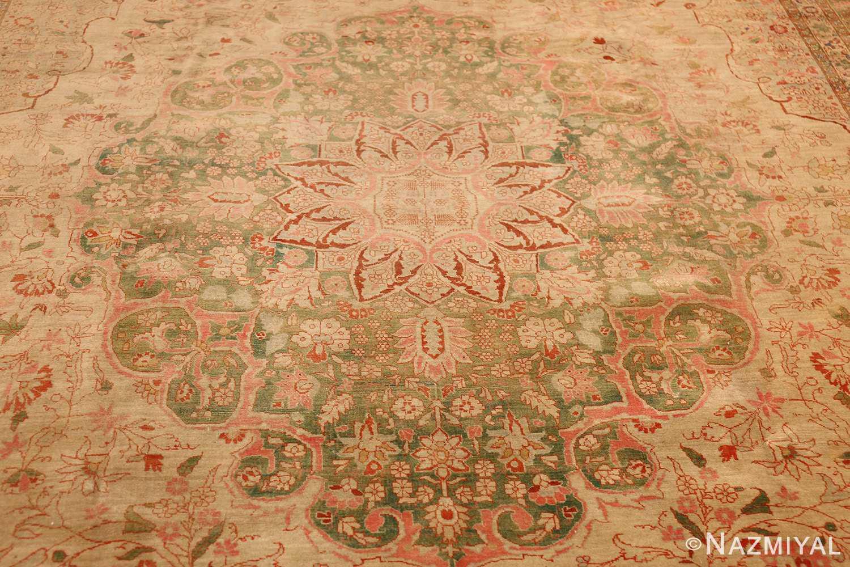 fine antique haji jalili tabriz persian rug 3035 center Nazmiyal