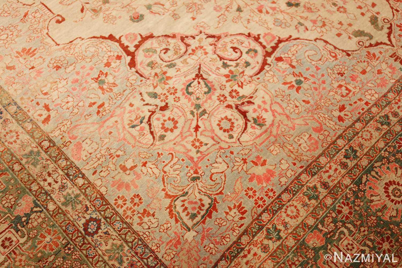 fine antique haji jalili tabriz persian rug 3035 design Nazmiyal