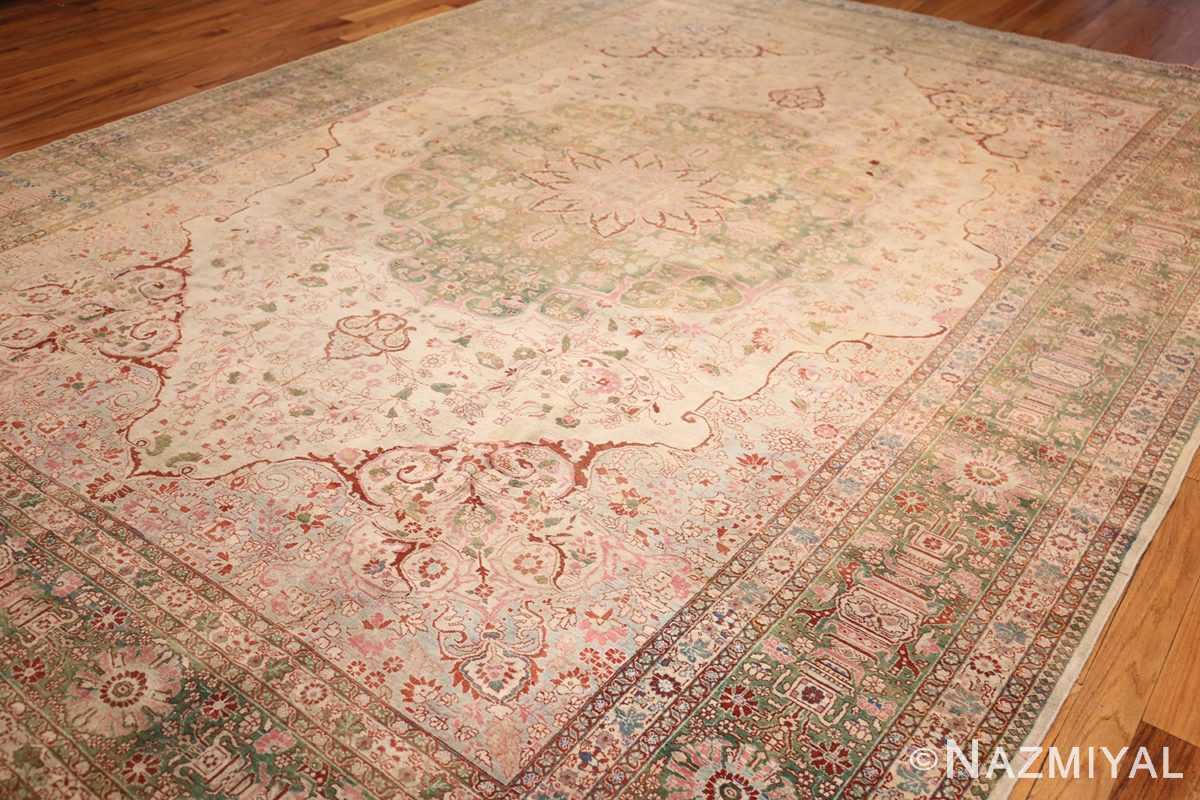 fine antique haji jalili tabriz persian rug 3035 lightside Nazmiyal
