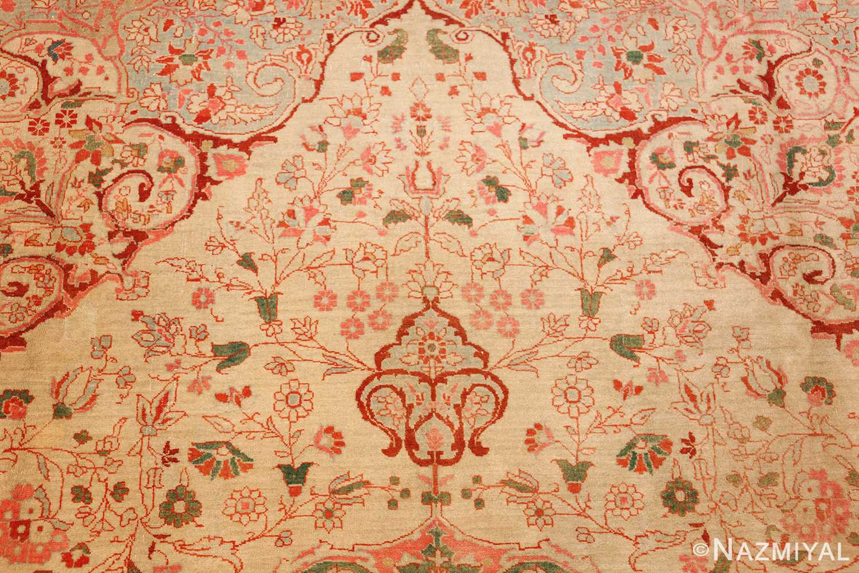 fine antique haji jalili tabriz persian rug 3035 top Nazmiyal