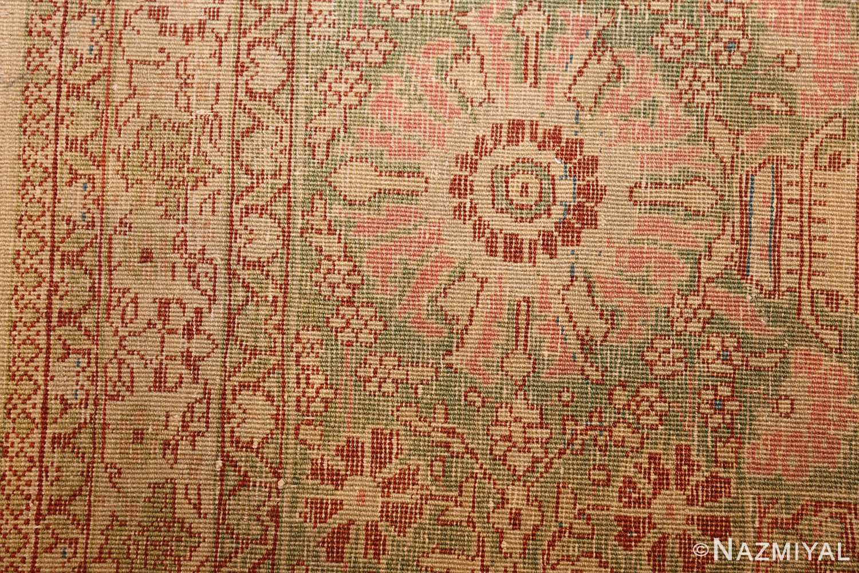 fine antique haji jalili tabriz persian rug 3035 weave Nazmiyal