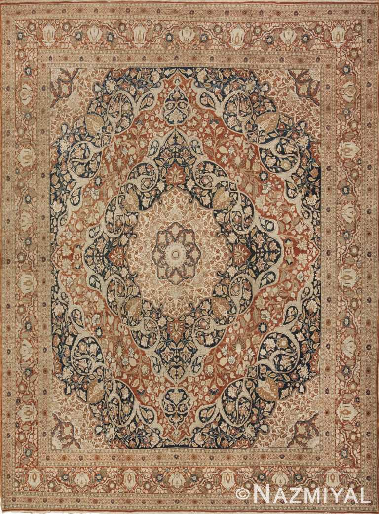 haji jalili antique tabriz persian carpet 40776 Nazmiyal