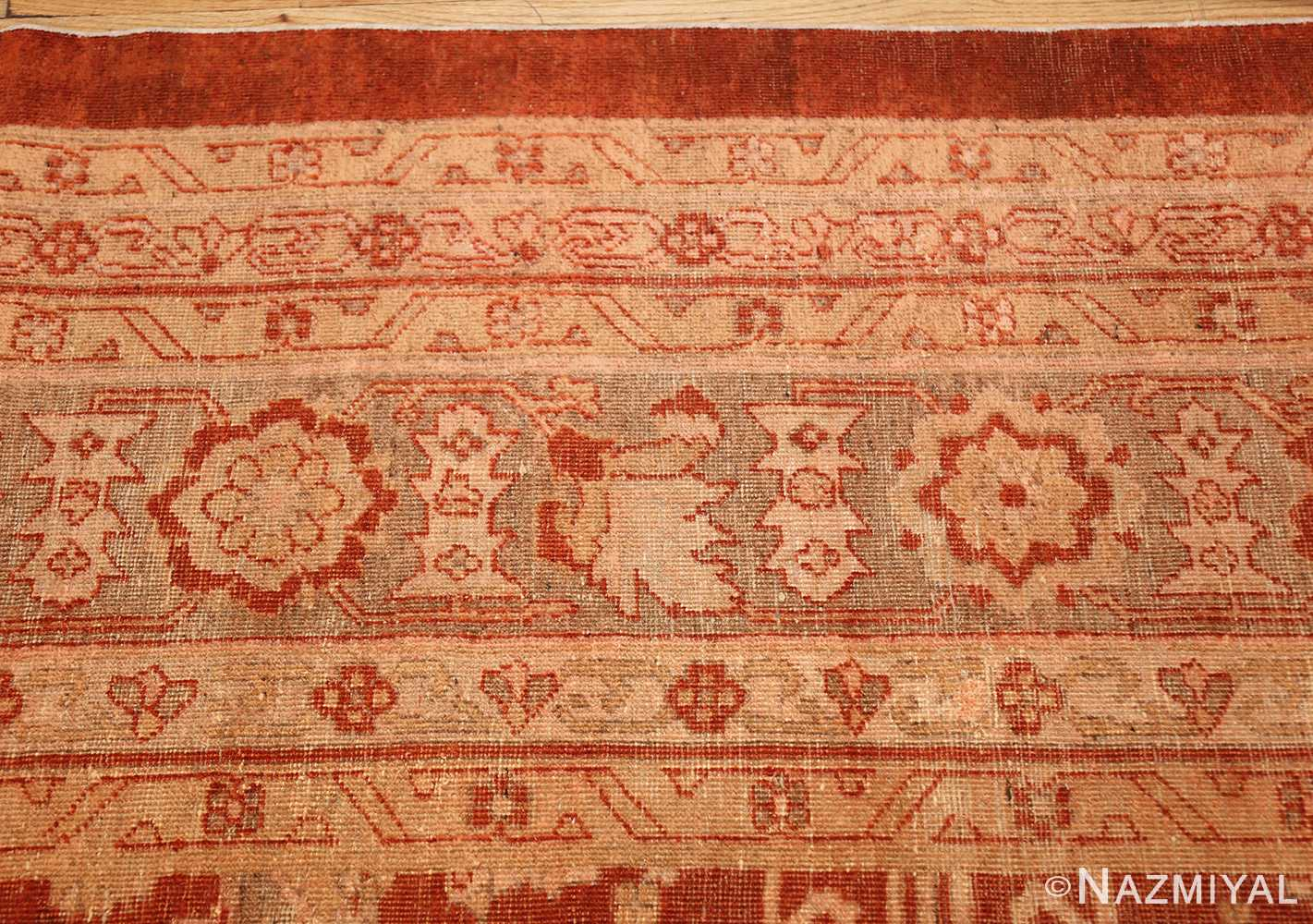 large allover design decorative antique indian amritsar rug 1574 border Nazmiyal
