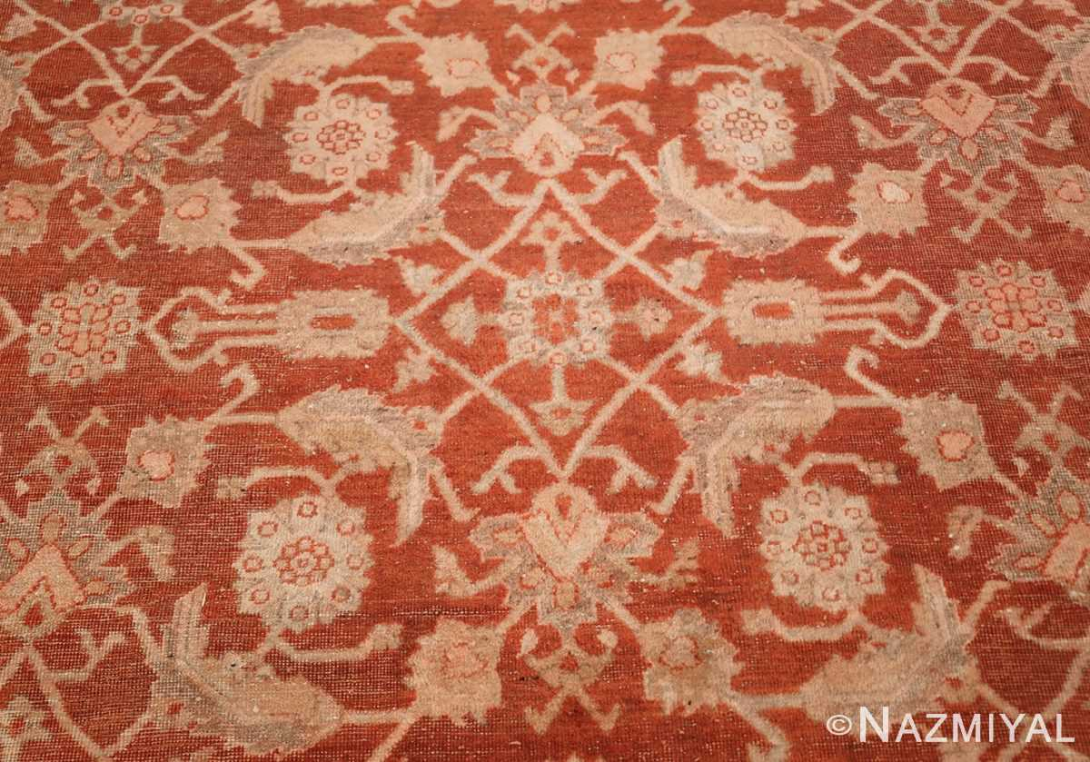 large allover design decorative antique indian amritsar rug 1574 closeup Nazmiyal