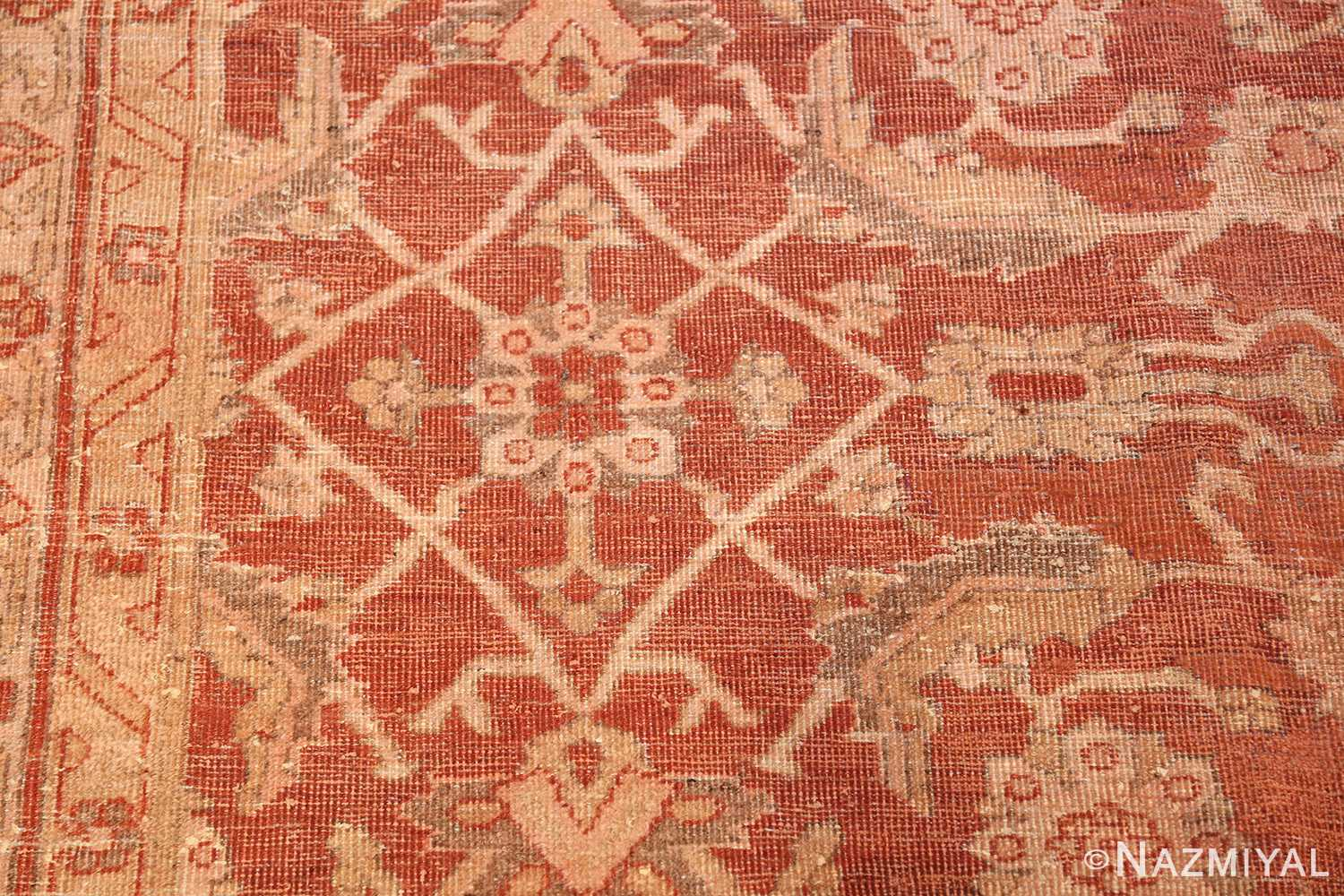 large allover design decorative antique indian amritsar rug 1574 design Nazmiyal