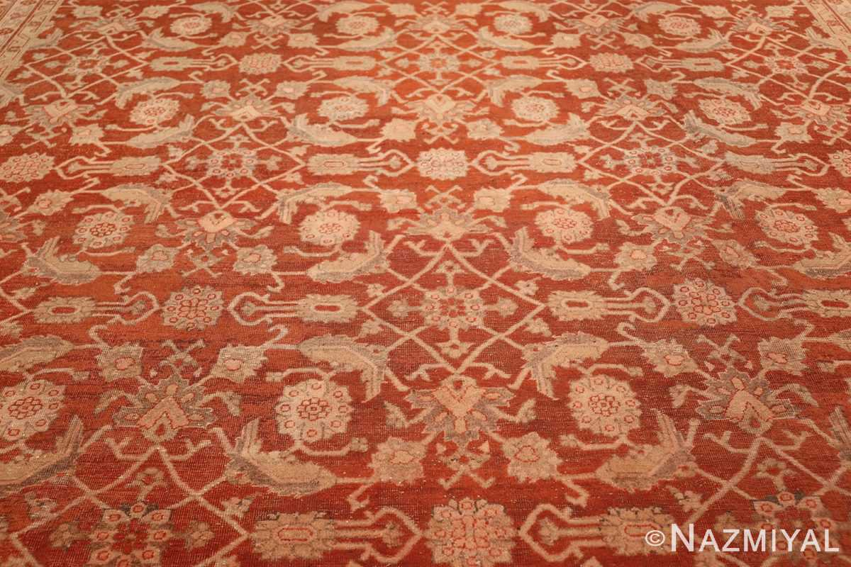large allover design decorative antique indian amritsar rug 1574 field Nazmiyal