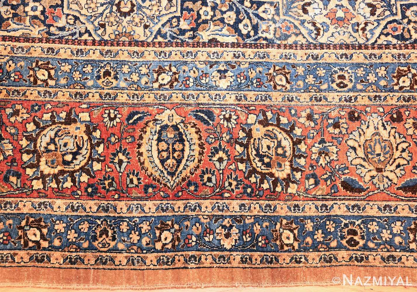 large antique persian khorassan rug 41964 border Nazmiyal