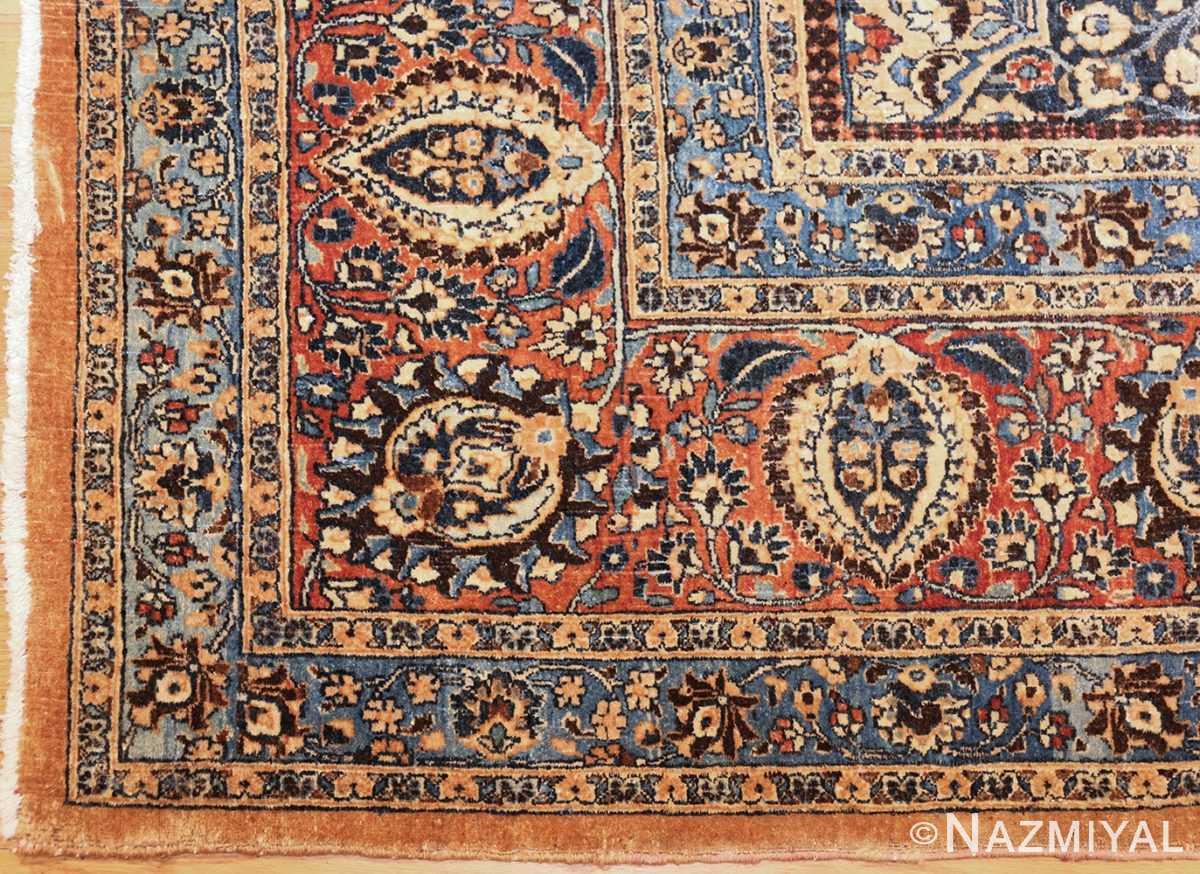 large antique persian khorassan rug 41964 corner Nazmiyal