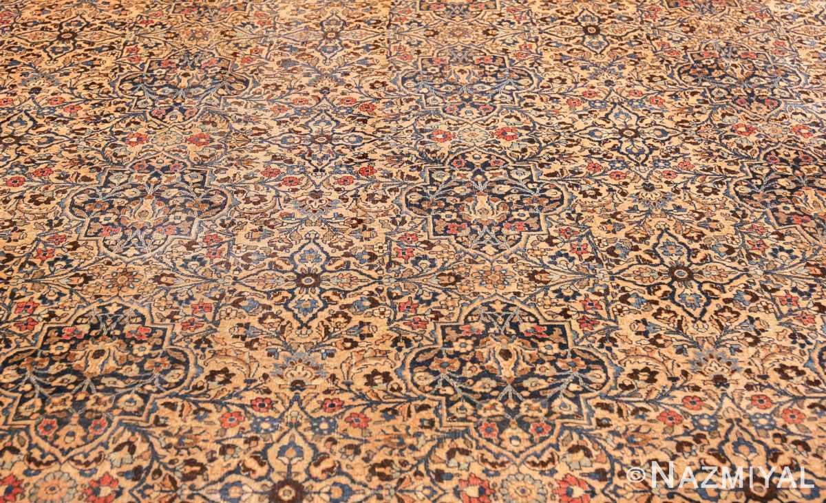 large antique persian khorassan rug 41964 field Nazmiyal