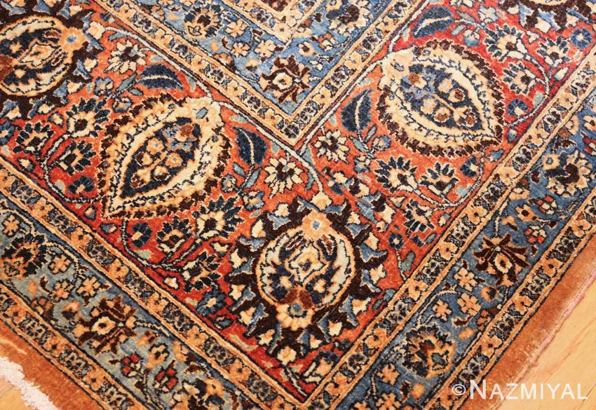 large antique persian khorassan rug 41964 part Nazmiyal