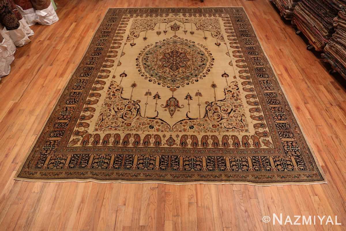 Full Antique Tabriz Haji Jalili Persian rug 3209 by Nazmiyal