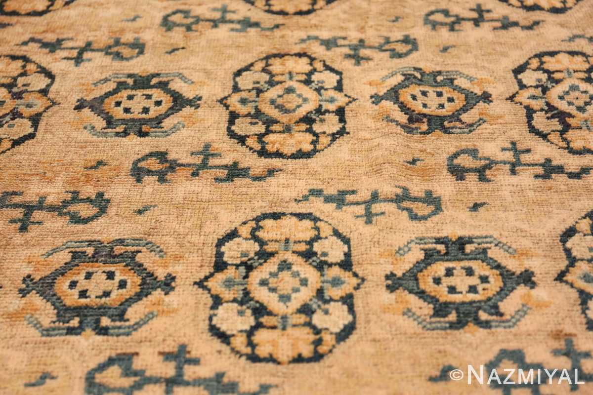Rare Room Size Antique Khotan Rug 538 Four Medallions Nazmiyal