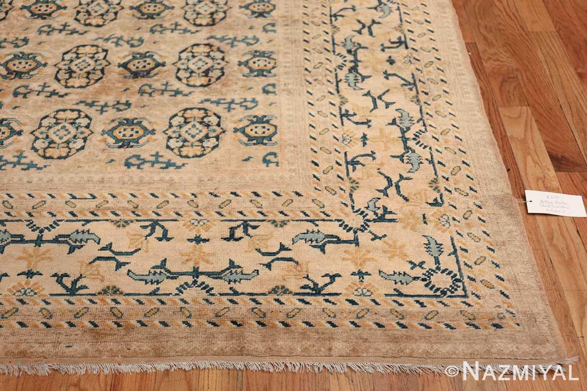 Rare Room Size Antique Khotan Rug 538 Side Design Nazmiyal