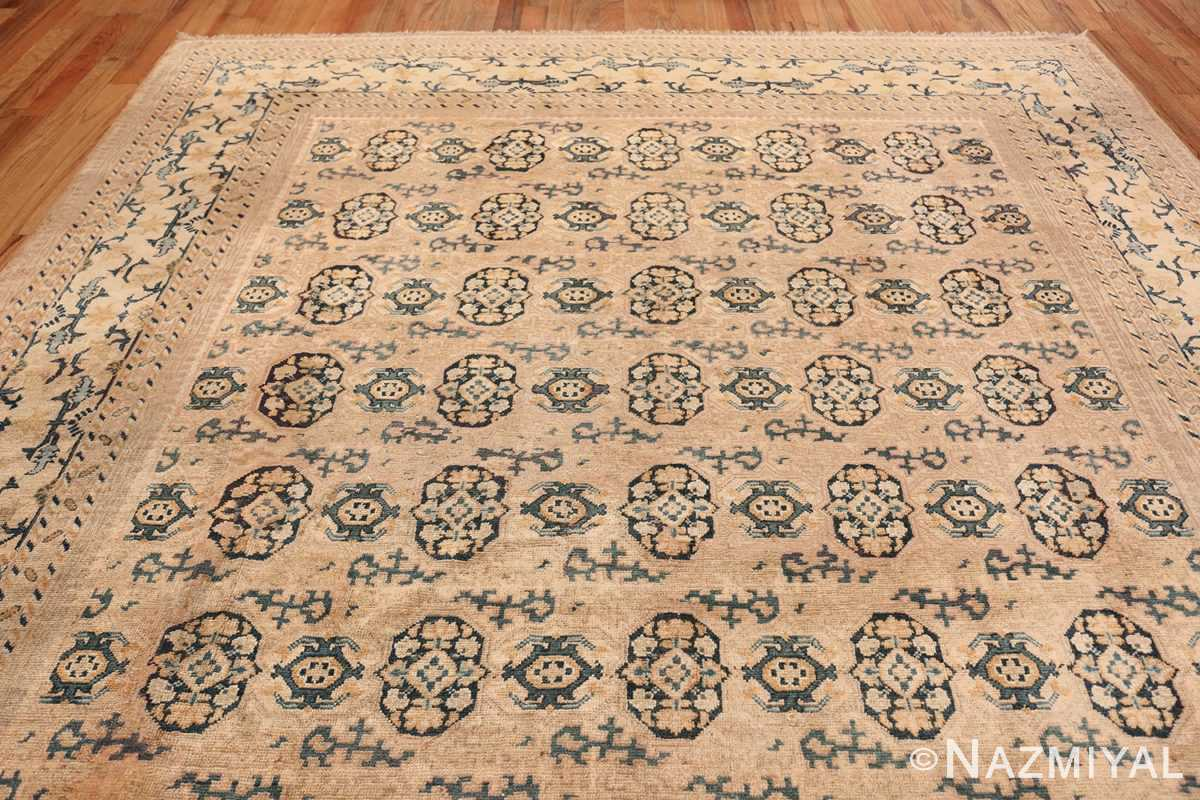Rare Room Size Antique Khotan Rug 538 Top Design Nazmiyal