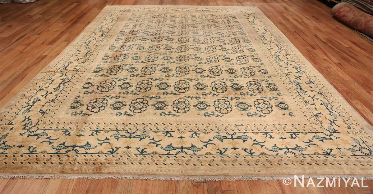 Rare Room Size Antique Khotan Rug 538 Whole Design Nazmiyal