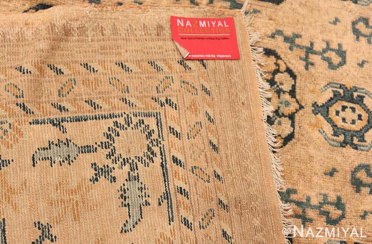 Rare Room Size Antique Khotan Rug 538 Woven Knots Nazmiyal
