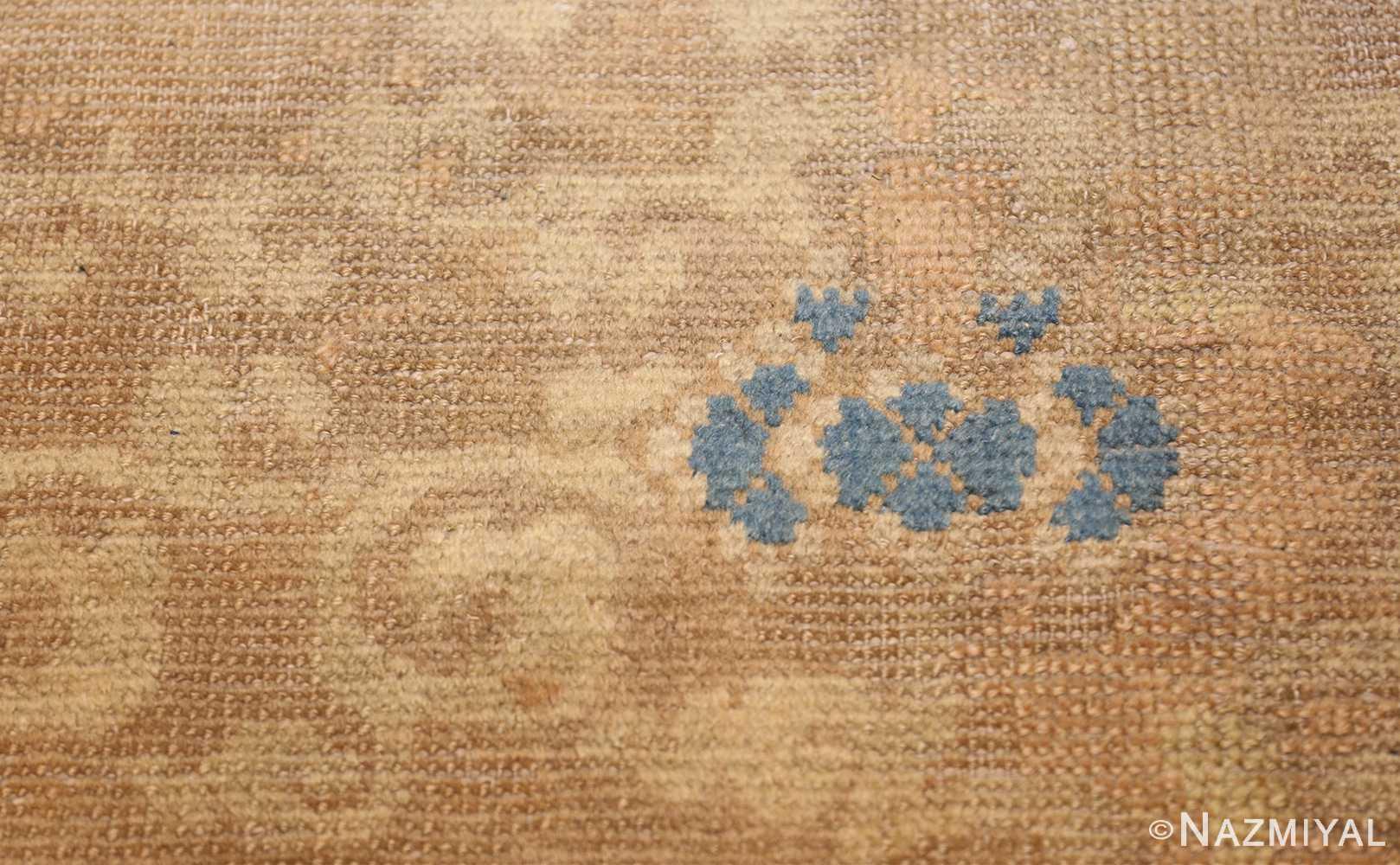 rare antique 17th century chinese ningsia rug 3285 blue Nazmiyal