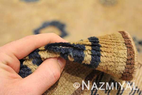 Close Up 1 - Rare Antique 17th Century Chinese Ningsia Rug 3285