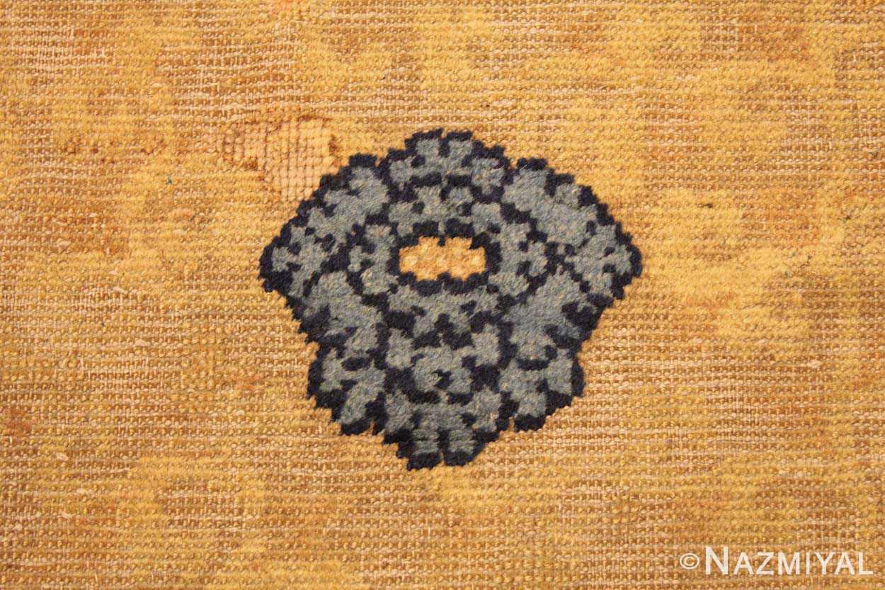Close Up 3 - Rare Antique 17th Century Chinese Ningsia Rug 3285