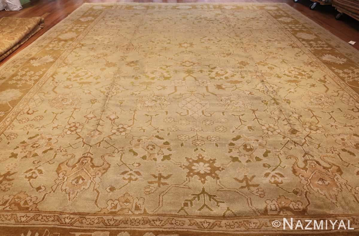 vintage turkish oushak rug 42081 whole Nazmiyal