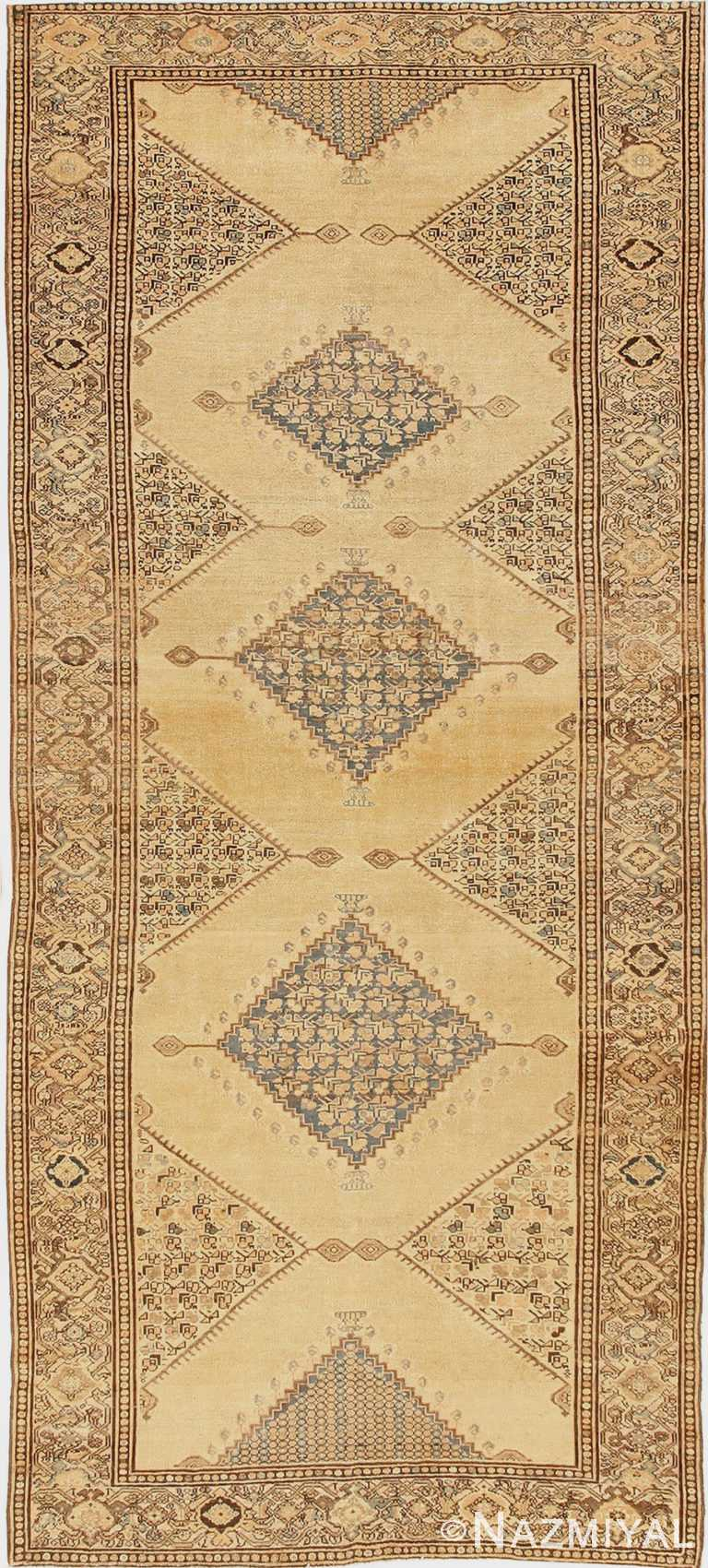 Antique Persian Malayer Rug 42462 by Nazmiyal Antique Rugs