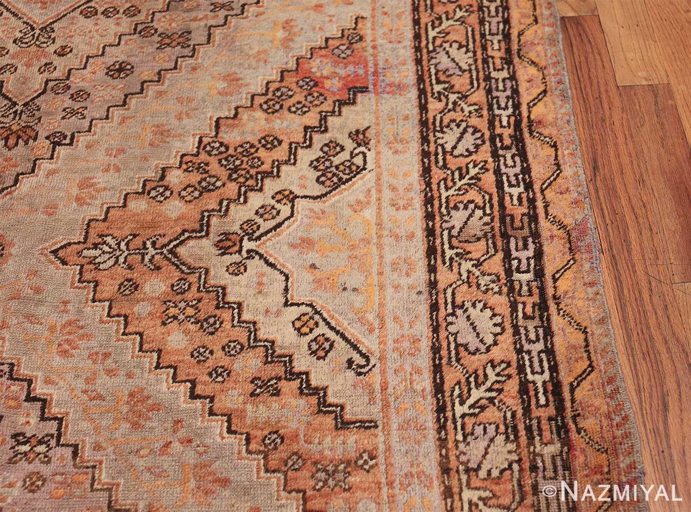 Beautiful and Decorative Antique Khotan Rug 42381 Border Design Nazmiyal