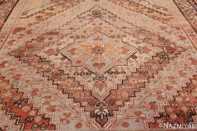 Beautiful and Decorative Antique Khotan Rug 42381 Red Medallion Nazmiyal