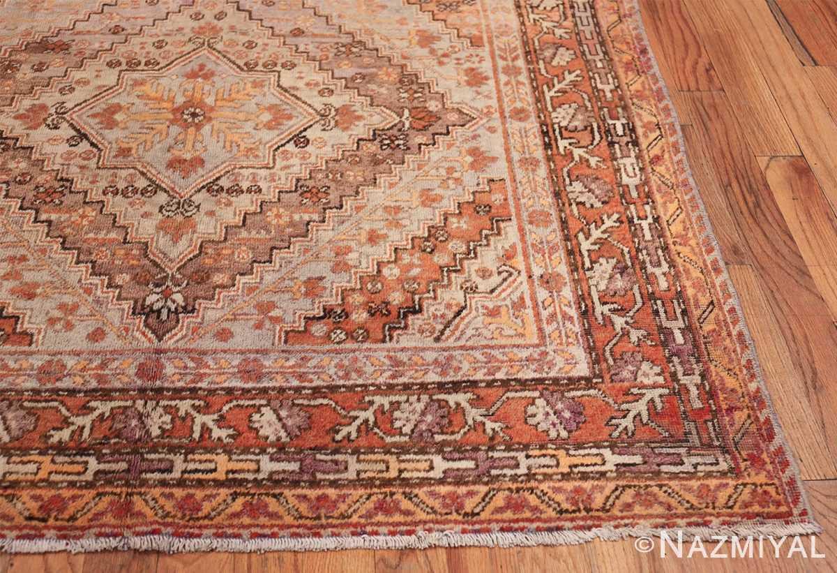 Beautiful and Decorative Antique Khotan Rug 42381 Side Corner Nazmiyal