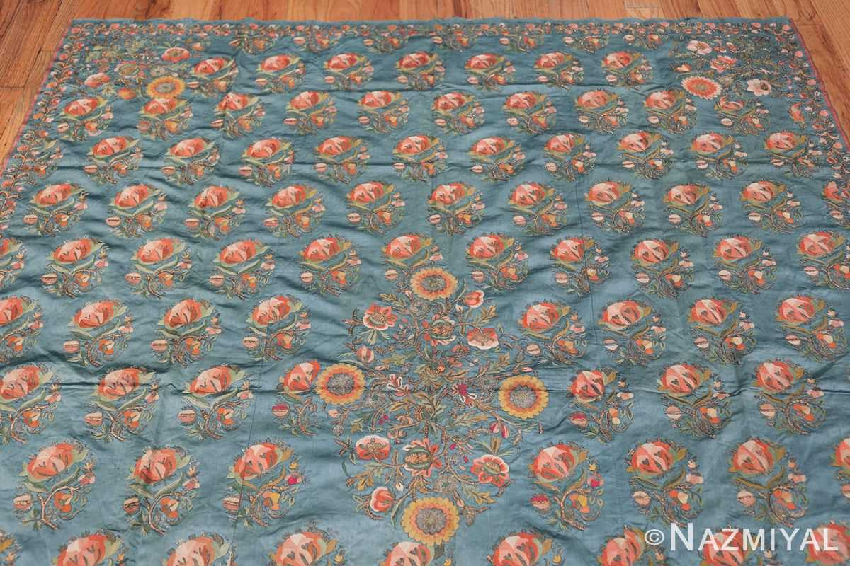 Collectible Antique Ottoman Silk Embroidery 42621 Top Design Nazmiyal