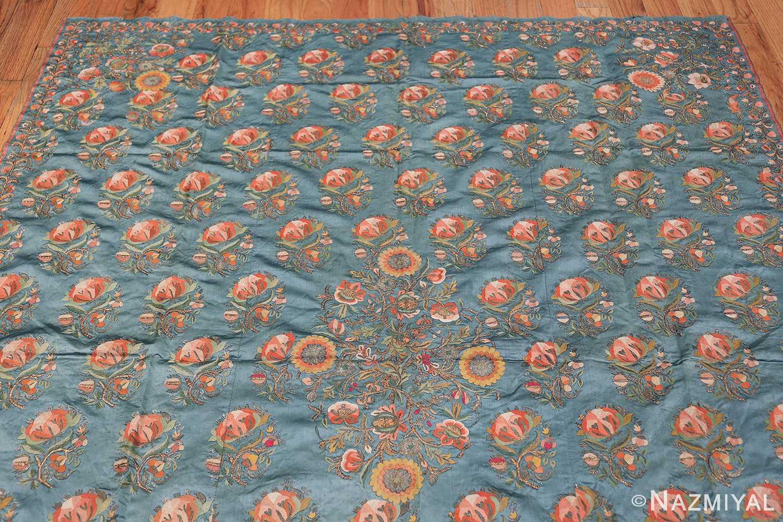 Collectible Antique Ottoman Silk Embroidery 42621 Top Design Nazmiyal