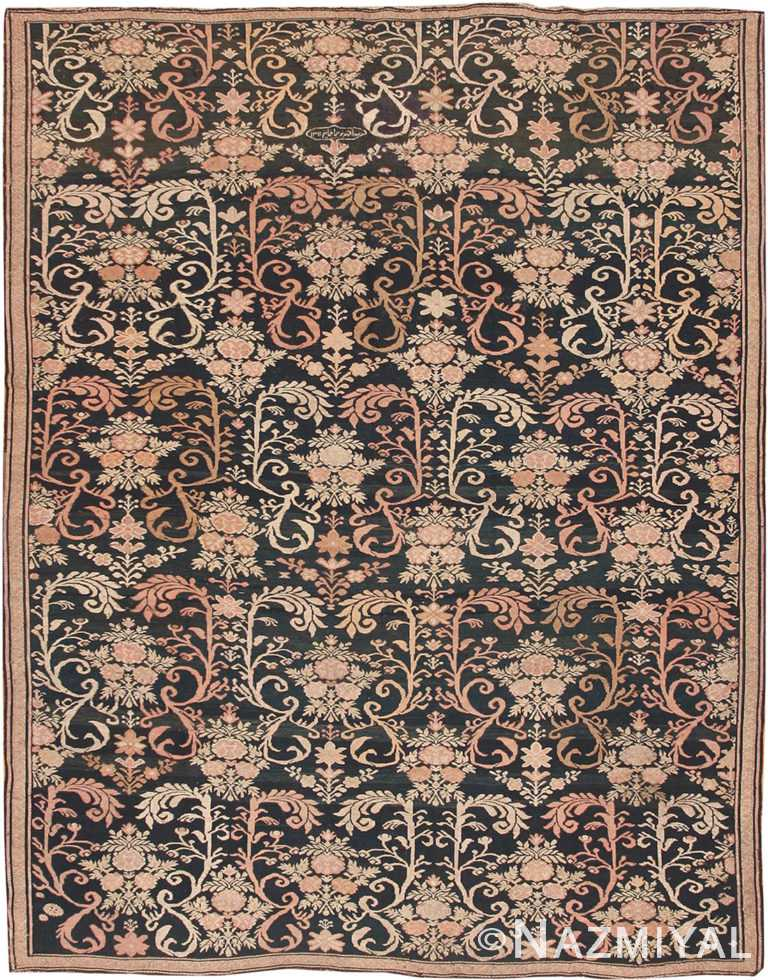 Antique Caucasian Karabagh Soumak Rug #42622 by Nazmiyal Antique Rugs