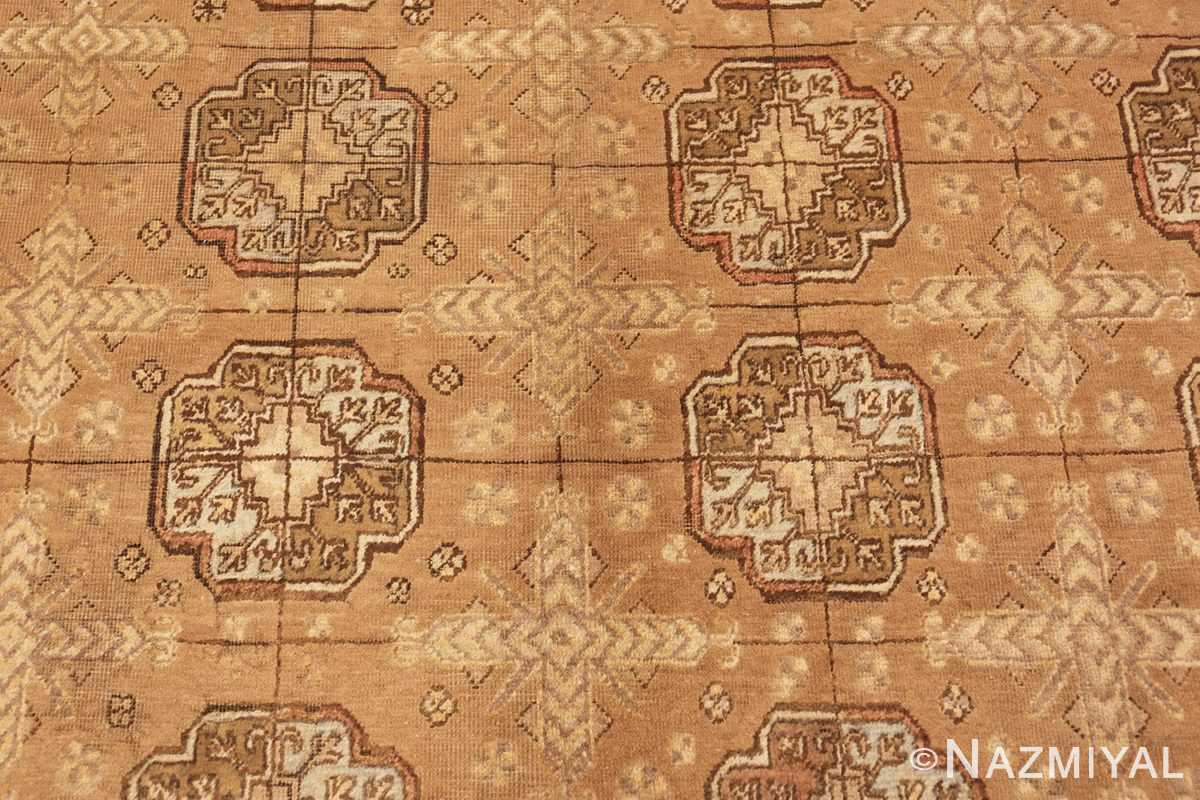 Center Field Picture of Antique Khotan Rug 42526 by Nazmiyal