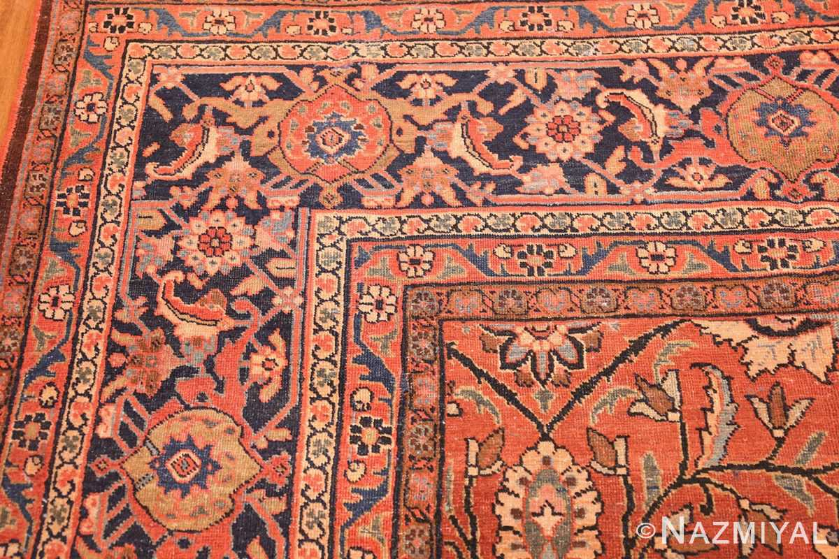 antique persian tabriz rug 42458 border Nazmiyal