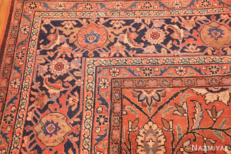 antique persian tabriz rug 42458 border Nazmiyal