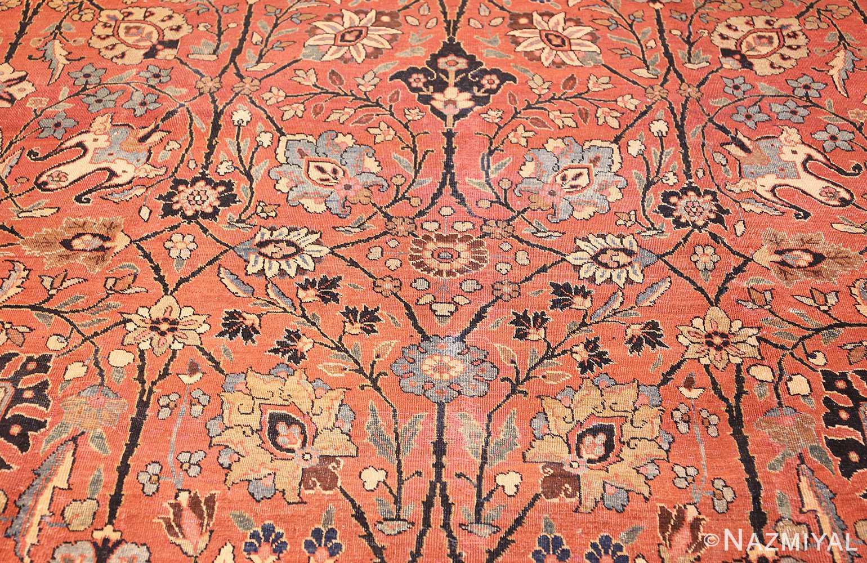 antique persian tabriz rug 42458 field Nazmiyal
