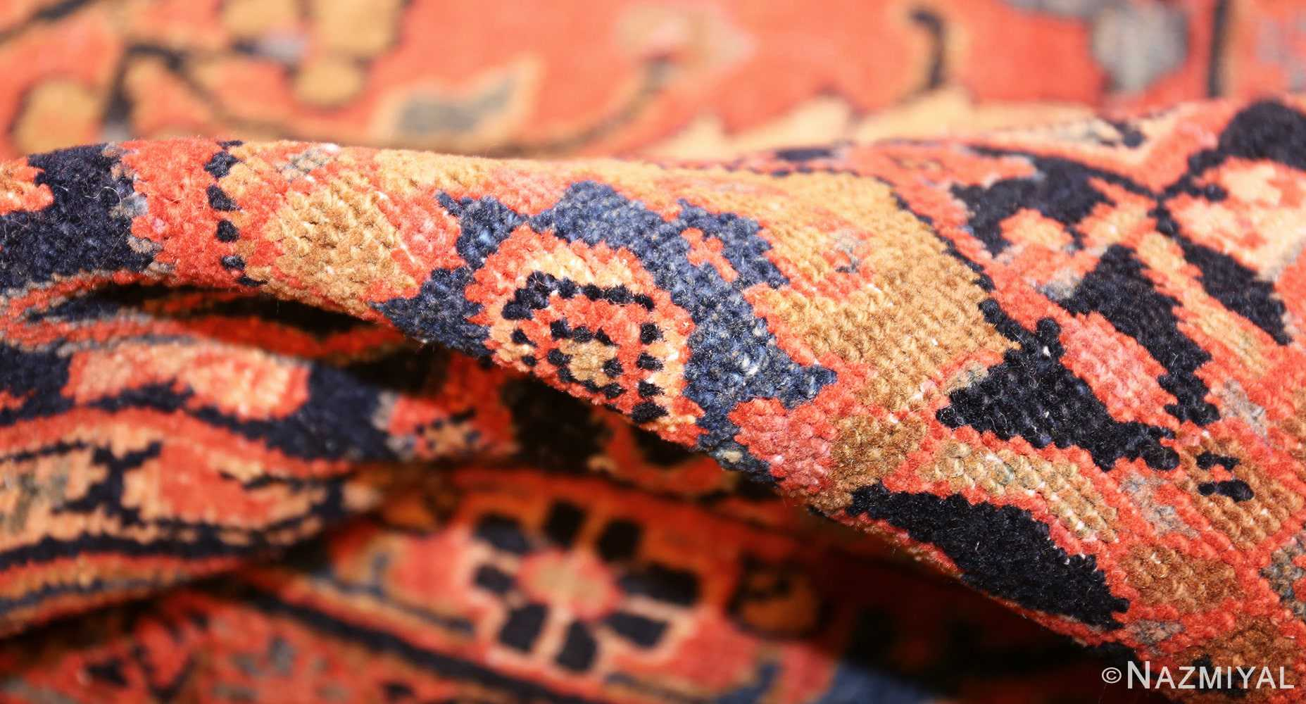 antique persian tabriz rug 42458 pile Nazmiyal