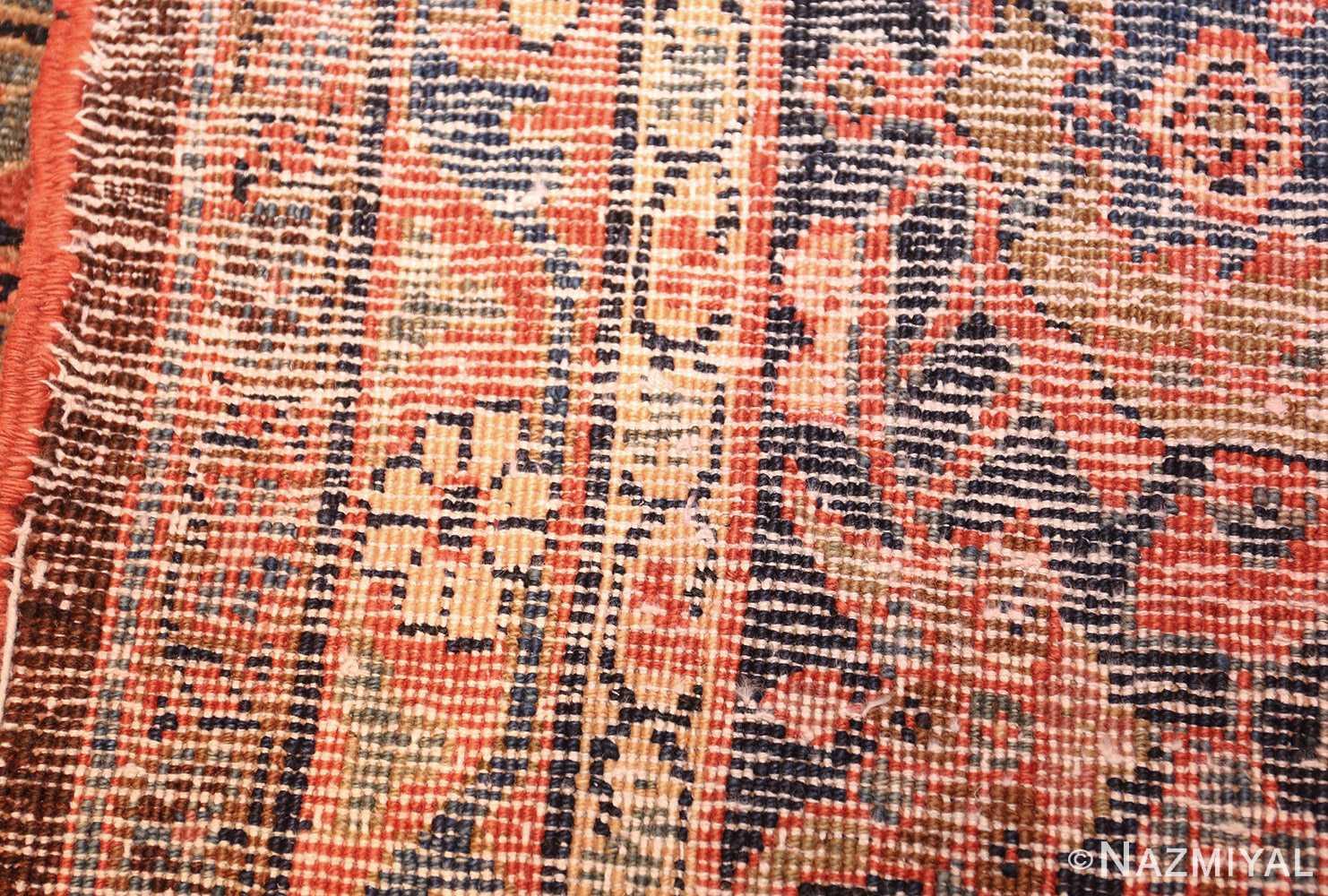 antique persian tabriz rug 42458 weave Nazmiyal