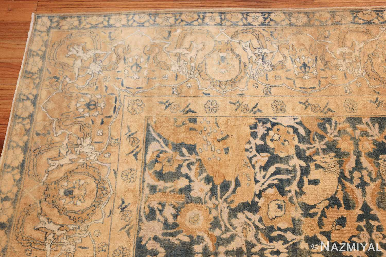 antique indian oriental rug 42095 corner Nazmiyal