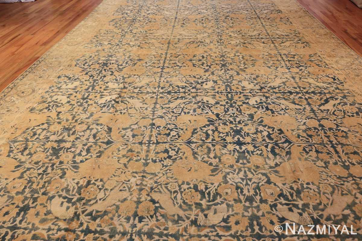 antique indian oriental rug 42095 field Nazmiyal
