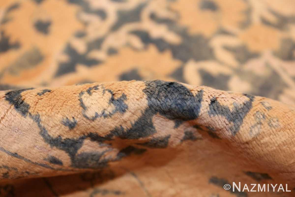 antique indian oriental rug 42095 pile Nazmiyal