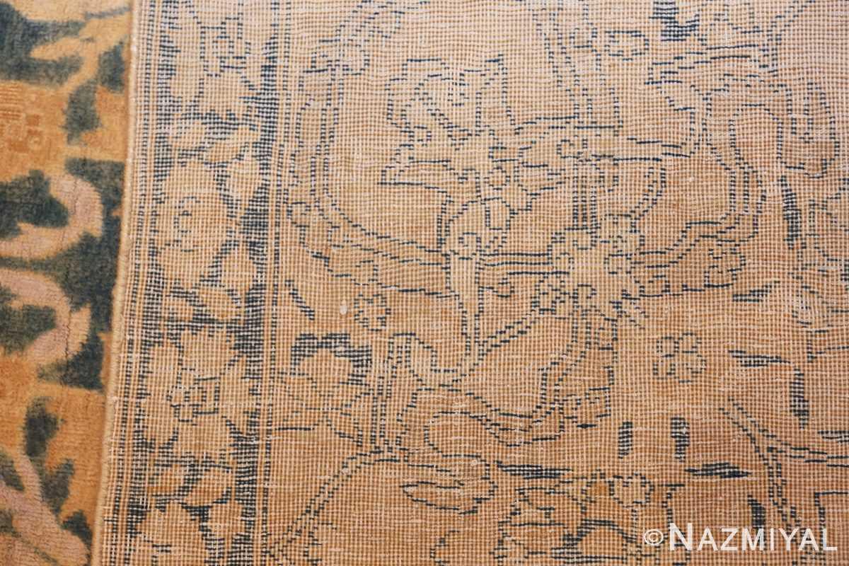 antique indian oriental rug 42095 weave Nazmiyal