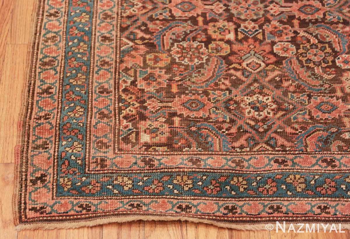 Corner Antique Bakshaish Persian runner rug 42365 by Nazmiyal