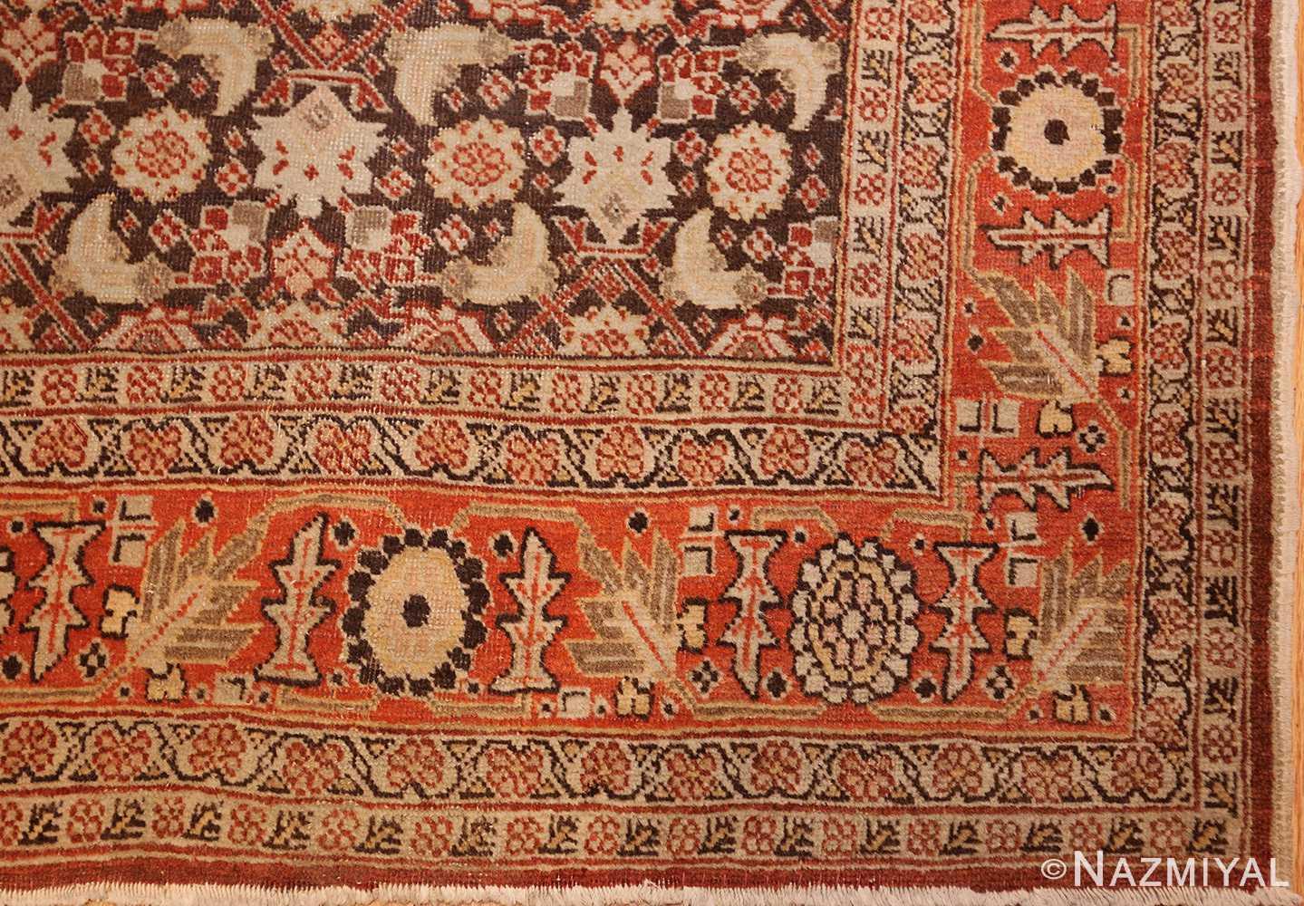 fine antique persian tabriz rug 42699 corner Nazmiyal